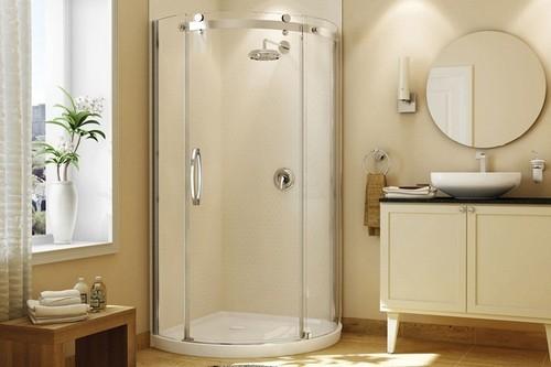 box redondo para banheiro