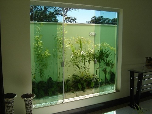 porta com vidro